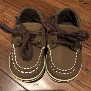 Baby Sperry Top Sider shoes Size 2. Brand new!